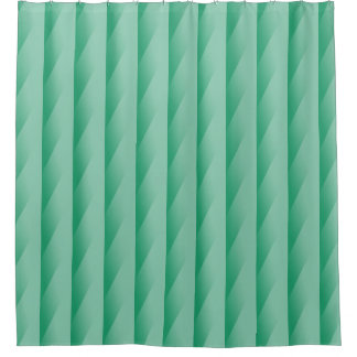 Green Turquoise Gradating Stripes