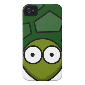 Green Turtle Cartoon iPhone 4 Covers