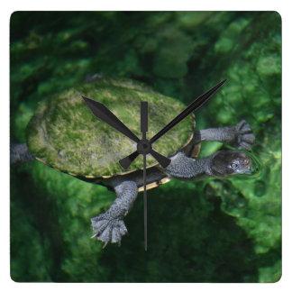 Green Turtle Clock
