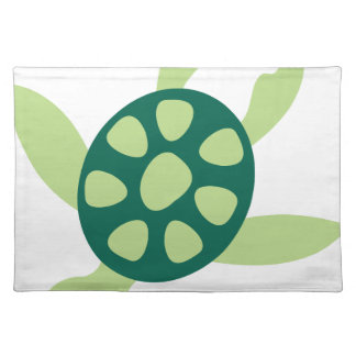 Green Turtle Swimming Placemat
