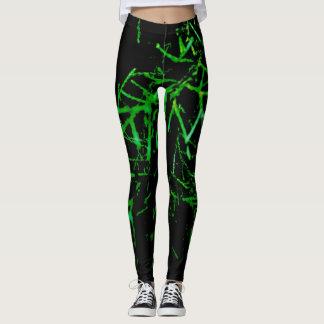 green twigs leggings