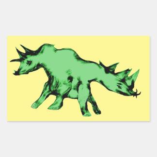 Green Two Headed Alien Animal