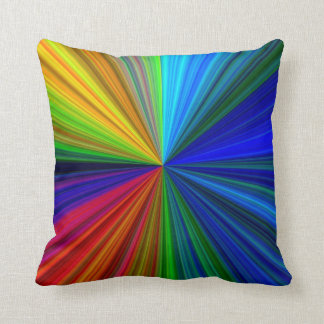 Green Two sided Abstract Pillow Designs