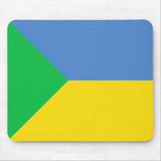 Green Ukraine, Ukraine flag Mouse Pad