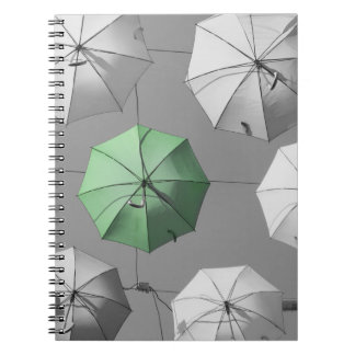 Green Umbrella Notebook