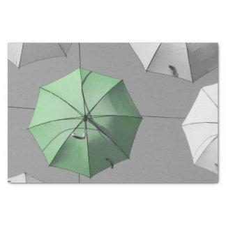 Green Umbrella Tissue Paper