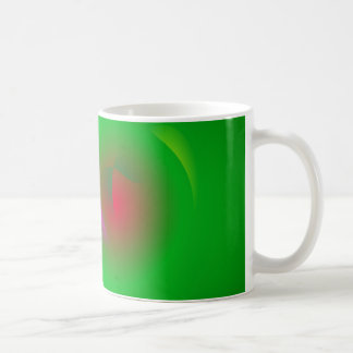 Green Universe and a Red sun Coffee Mugs