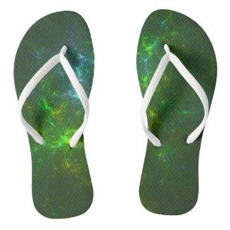 Green Universe Flip Flops
