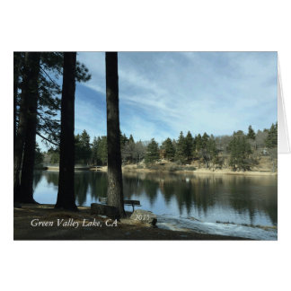 Green Valley Lake, Ca 2015 Card