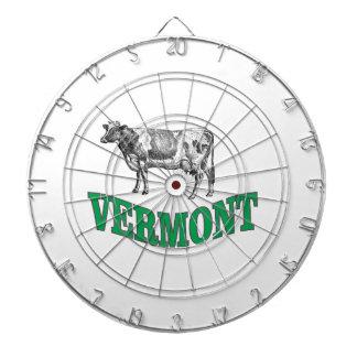 green vermont dartboard