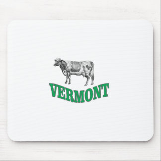 green vermont mouse pad