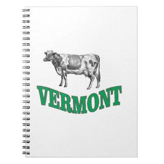 green vermont notebook