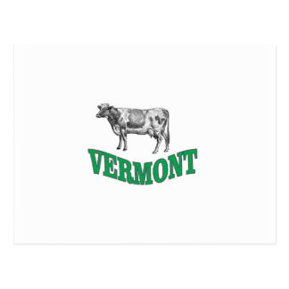 green vermont postcard