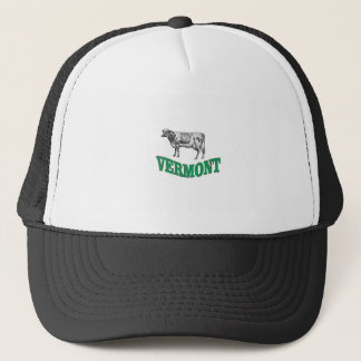 green vermont trucker hat