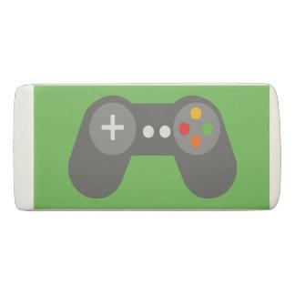 Green Video Game Controller Eraser