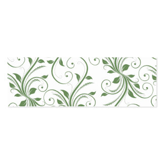 Green Vines Mini Business Card
