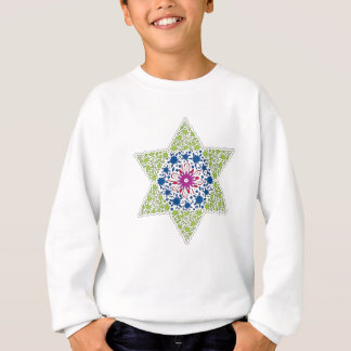 Green Vintage Star of David - Magen David Sweatshirt