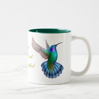 Green Violet Eared Hummingbird Mug