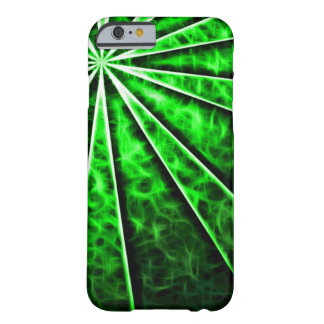 Green Vortex Fractal Barely There iPhone 6 Case