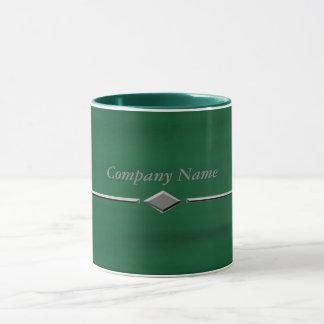 Green Water Diamond Mug