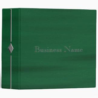 Green Water Diamond Vinyl Binder