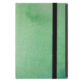 Green Watercolour Marble Cover For iPad Mini