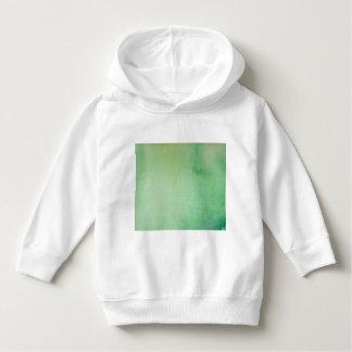 Green Watercolour Marble Hoodie
