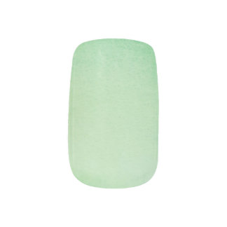 Green Watercolour Marble Minx Nail Art