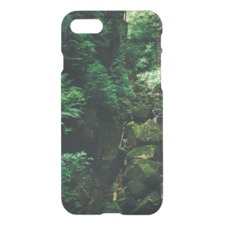 Green Waterfall Landscape, Nature Photograph iPhone 7 Case