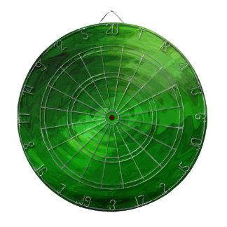 Green wave graphic design dart boards