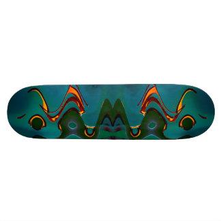 Green Waves Skateboard