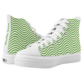 Green Wavy Lines You Choose the Background Color