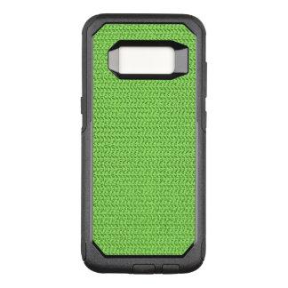 Green Weave Mesh Look OtterBox Commuter Samsung Galaxy S8 Case