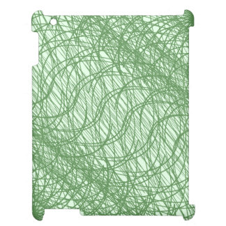 Green Webs Case For The iPad