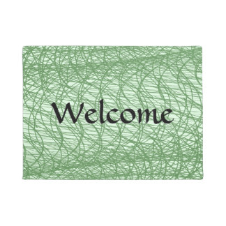 Green Webs Doormat