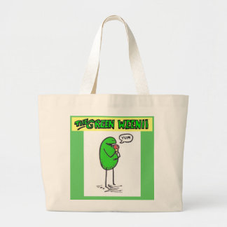 "Green Weenii ""Yum"" Grocery Bag"