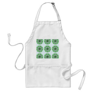 Green : Wheel of Movement to Conservation Adult Apron