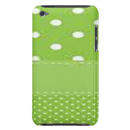 Green & White Polka Dots iPod Touch Covers