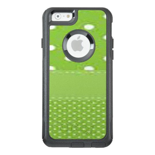 Green & White Polka Dots OtterBox iPhone 6/6s Case