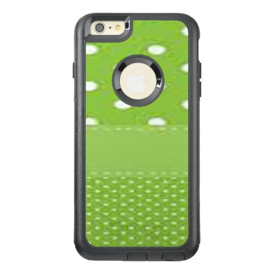 Green & White Polka Dots OtterBox iPhone 6/6s Plus Case