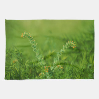 Green Wild Plant Kitchen Towels