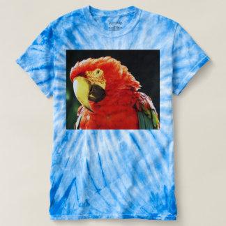 Green Winged Macaw Parrot Bird, Closeup T Shirt