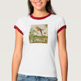 Green-Winged Macaw Parrot T-Shirt