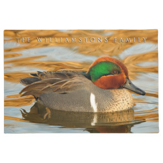 Green-Winged Teal on Golden Pond Doormat