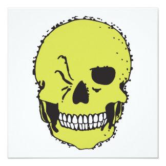 green winking skull announcement