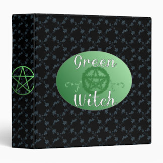 Green Witch binder