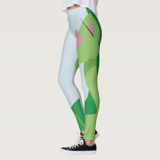 GREEN WITH ENVY Leggings