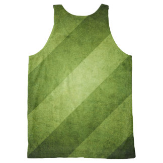Green with Envy Striped Tank Top