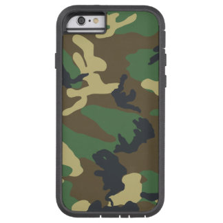 Green Woodland Camouflage Tough Xtreme iPhone 6 Case