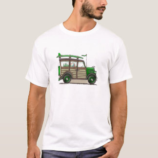 Green Woody Wagon Apparel T-Shirt